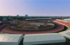 Phối cảnh 3D của đường đua công thức 1 Việt Nam Grand Prix