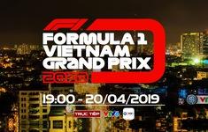 """TRỰC TIẾP SỰ KIỆN """"Khởi động F1 Việt Nam GP 2020"""""""