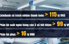"""Tuyên xử phúc thẩm vụ """"bốc hơi"""" 245 tỷ đồng tại Eximbank"""
