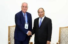 Thủ tướng Nguyễn Xuân Phúc tiếp Đoàn các hãng thông tấn tham dự Hội nghị Ban Chấp hành OANA lần thứ 44