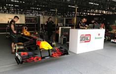 """VIDEO: Cận cảnh chiếc xe F1 sẽ chạy thử tại sự kiện """"Khởi động F1 Việt Nam Grand Prix 2020"""""""