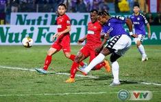 TRỰC TIẾP BÓNG ĐÁ CLB Hà Nội 0-0 CLB Hải Phòng: Omar sút hỏng phạt đền!