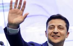 Bầu cử Ukraine: Lãnh đạo nhiều nước chúc mừng ông V.Zelensky