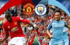 Lịch trực tiếp bóng đá Ngoại hạng Anh giữa tuần: Nóng bỏng derby Manchester