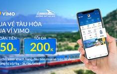 Triển khai dịch vụ mua vé tàu trực tuyến trên ví điện tử VIMO