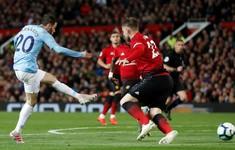 Man Utd 0-2 Man City: Chiến thắng thuyết phục