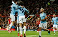 HIGHLIGHTS: Man Utd 0-2 Man City (Đấu bù vòng 31 Ngoại hạng Anh)