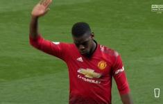 Pogba cúi đầu xin lỗi sau trận thua ở derby Manchester