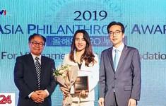 """Quỹ Vì Tầm vóc Việt nhận giải thưởng """"Tổ chức phi lợi nhuận của năm"""""""