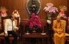 PTTg Trương Hòa Bình chúc mừng đại lễ Phật đản tại TP.HCM