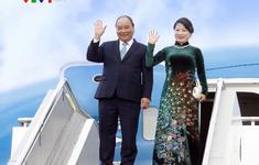 Thủ tướng Nguyễn Xuân Phúc lên đường thăm chính thức Liên bang Nga, Vương quốc Na Uy và Vương quốc Thụy Điển