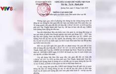 Thanh tra sai phạm quản lý đất đai tại Quảng Nam
