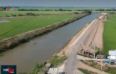 Bảo vệ sản xuất, giữ nước trong mùa khô với đê bao bảo vệ vùng đầu nguồn