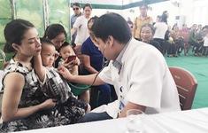 Hơn 400 người dân ở Nghệ An được khám sàng lọc tim miễn phí