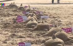 Kỷ lục đông người điêu khắc cát nhất thế giới