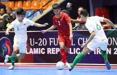 U20 Việt Nam dừng bước ở tứ kết giải futsal Châu Á