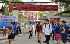 Khoảng 880.000 thí sinh hoàn thành bài thi đầu tiên Kỳ thi THPT Quốc gia 2019