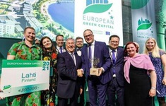 """Thành phố Lahti trở thành """"Thủ đô Xanh của châu Âu"""""""