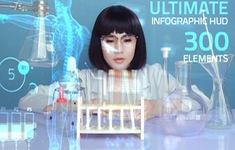 Hoa hậu Lê Đỗ Minh Thảo đẹp - độc - lạ trong bộ ảnh về ngành xét nghiệm