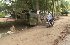 Cần giải quyết triệt để lối đi cho hàng trăm hộ dân ở Vĩnh Long