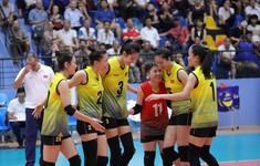Thắng U23 Kazakhstan, U23 Việt Nam vào bán kết giải bóng chuyền nữ U23 châu Á 2019
