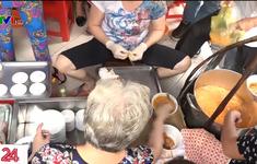 Bí quyết của bà chủ quán bán hết hàng trăm bát bánh canh chỉ trong 45 phút