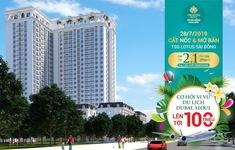 Mở bán & cất nóc TSG Lotus Sài Đồng: Tậu nhà sang - trúng quà lên tới 100 triệu đồng