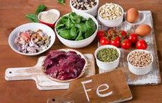 Những thực phẩm giàu sắt giúp bổ máu