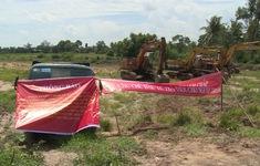 Nhà thầu phụ cản trở thi công cao tốc Trung Lương - Mỹ Thuận