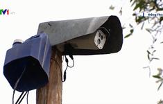 Lắp camera để giám sát đồng ruộng