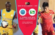 TRỰC TIẾP BÓNG ĐÁ Sanna Khánh Hòa BVN 0-1 Sông Lam Nghệ An: Tuấn Tài mở tỉ số trận đấu