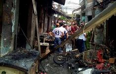Nổ bình gas gây hỏa hoạn ở TP.HCM, 7 ngôi nhà bị ảnh hưởng