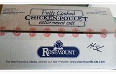 Canada thu hồi sản phẩm thịt gà hiệu Rosemount do nghi nhiễm khuẩn Listeria