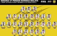 Vòng loại World Cup 2022: ĐT Malaysia triệu tập 4 cầu thủ nhập tịch