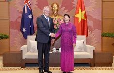 Quốc hội Việt Nam luôn ủng hộ việc phát triển mạnh mẽ quan hệ với Australia