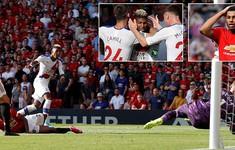 """Man Utd 1-2 Crystal Palace: Daniel James """"suýt"""" giúp Quỷ đỏ có điểm, nhưng..."""