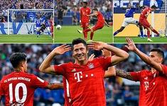 Schalke 04 0-3 Bayern Munich: Lewandowski lập hat-trick