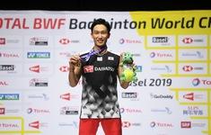 Giải cầu lông vô địch thế giới 2019: Kento Momota bảo vệ thành công chức vô địch