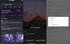 Google Assistant cập nhật chế độ nền tối mới