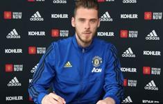 De Gea gia hạn hợp đồng, nhận lương cao nhất Man Utd