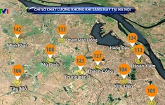 Hà Nội ô nhiễm không khí gia tăng