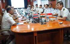 Ấn Độ tập trận Hải quân với Thái Lan và Singapore