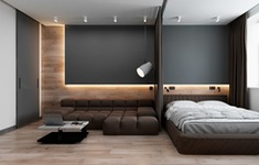 Căn hộ 42m2 có cách bố trí nội thất khiến ai cũng phải trầm trồ