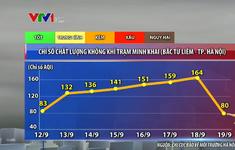 Hà Nội: Không còn điểm nào có chỉ số ô nhiễm ở mức kém như ngày 18/9