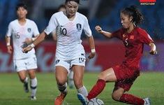 U16 nữ Việt Nam thi đấu nỗ lực trong thất bại 0-3 trước U16 nữ Hàn Quốc
