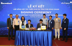 Sacombank và Công ty Cổ phần Alliex Việt Nam ký kết hợp tác triển khai hạ tầng POS dùng chung