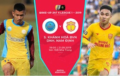TRỰC TIẾP BÓNG ĐÁ Sanna Khánh Hòa BVN 0-0 DNH Nam Định (H1): Đôi công hấp dẫn!