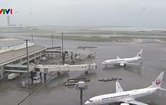 Hàng trăm chuyến bay ở Nhật Bản bị hủy do bão Tapah