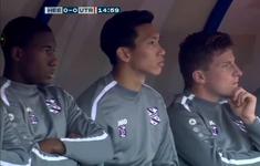 Heerenveen lỡ chiến thắng vì hỏng penalty, Văn Hậu chưa có trận ra mắt