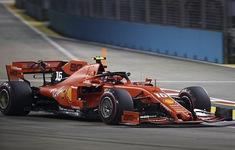 Đua xe F1: Charles Leclerc giành vị trí xuất phát đầu tiên tại GP Singapore